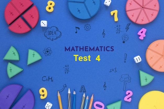 Year 6 Selective Test Maths Quiz 4